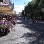 Avenida principal de Oslo