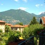 dal balcone vista montagne