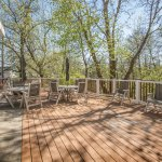 Enjoy the Donian Nature Preserve from the deck
