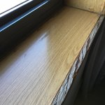 Repisa ventana habitación
