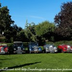 Sunbeam Talbot's that attended the Flanders Fields Trip in the grounds of the Hotel
