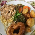 Sunday dinner certainly looks and tastes homemade and is huge! Loved it (could do with a tad mor