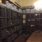 Part of wine storage