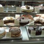 a choice of cakes