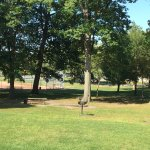 Cobb's Hill Park - BBQ area under trees