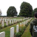 Bonito cementerio de guerra