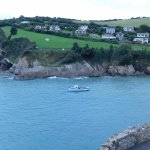 COMBE MARTIN BAY/BEACH ..IN VIEW FROM SITE AND ROOM .5 MIN WALK ,10 BACK ..LOL