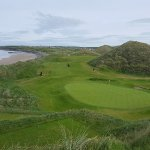 17th Green on the Old Course at Ballybunion Golf Club. Another awesome Irish Golf Links.