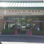 Troy's Cafe Outside