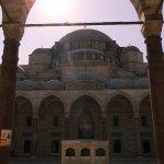 Süleymaniye-Moschee am Mittag