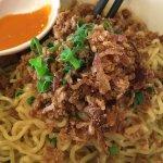 Mie Bangka (Wong called it Homemade Noodle $9.50)