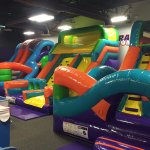 Bounce in our 3 incredible inflatables - perfect for kids 10 and under