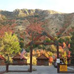 Deluxe Cabins open year round at Lava Hot Springs KOA.