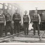 Mine Rescue Team, circa 1920s.