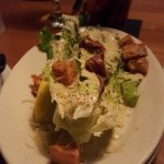True Caeser Salad with house dressing & anchovies.  YUM!