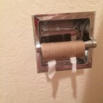 Sufficient TP is a lodging basic.