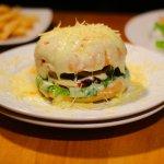 Hamburguesa Gratinada en Barcelona Bar