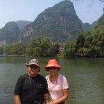 Paseo bote bambu - Guilin