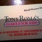 Billede af Tony Roma's
