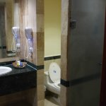 Junior Suite Bath with Jacuzzi & Stand up Shower