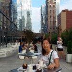 terraza para tomar el desayuno
