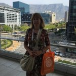 Beautiful view from the upper floors of Cape Town International Convention Centre