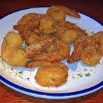 Parmesan Peppercorn shrimps