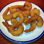 Hand Breaded shrimps
