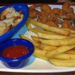 Parmesan Peppercorn and Shrimp Scampi
