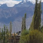 View of mountains from Raku Guesthouse, Leh