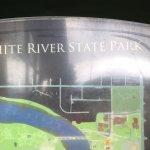 White River State Park Foto