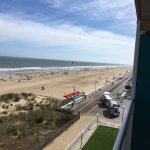 Inside of the Dunes Suite and view from balcony!  Outstanding