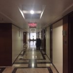 Well maintained and clean corridors