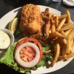 Fish sandwich with Yummy French Fries