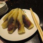 これが北京ダックの食べる状態