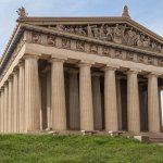 The Parthenon and Vanderbilt University (3 Miles)