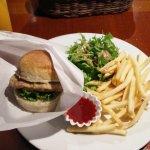 Kyoto style vegan burger