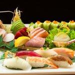 Sushi at Miyazu Japanese Restaurant Rutherford Hotel