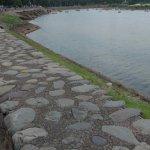 glimpse of the lake