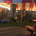 This place was by far my favorite stop. Had such a fun time. Great reggae band playing. Tons of