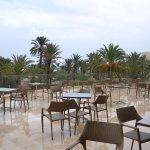 Веранда лобби-бара корпуса Resort