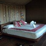 The bed Obama slept while in visiting Masai Mara at Base Camp