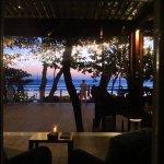 View onto Chez Gado Gado Deck