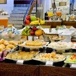 Café da Manhã completo e variado