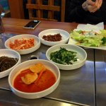 Standard side dishes