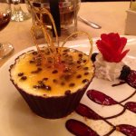 Delicious appetizer, amazing dessert