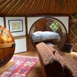 Halfling yurt, adult bedroom