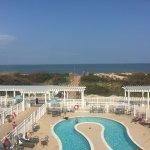 Pool Front/ OceanView from 3rd Floor Balcony