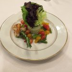 Delightful St. Regis Salad - only the beginning of the dining experience!