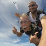 Free fall from 9,000'